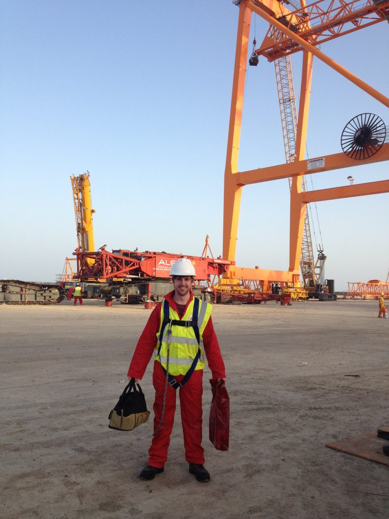 Abu Dhabi Liebherr Crane Build