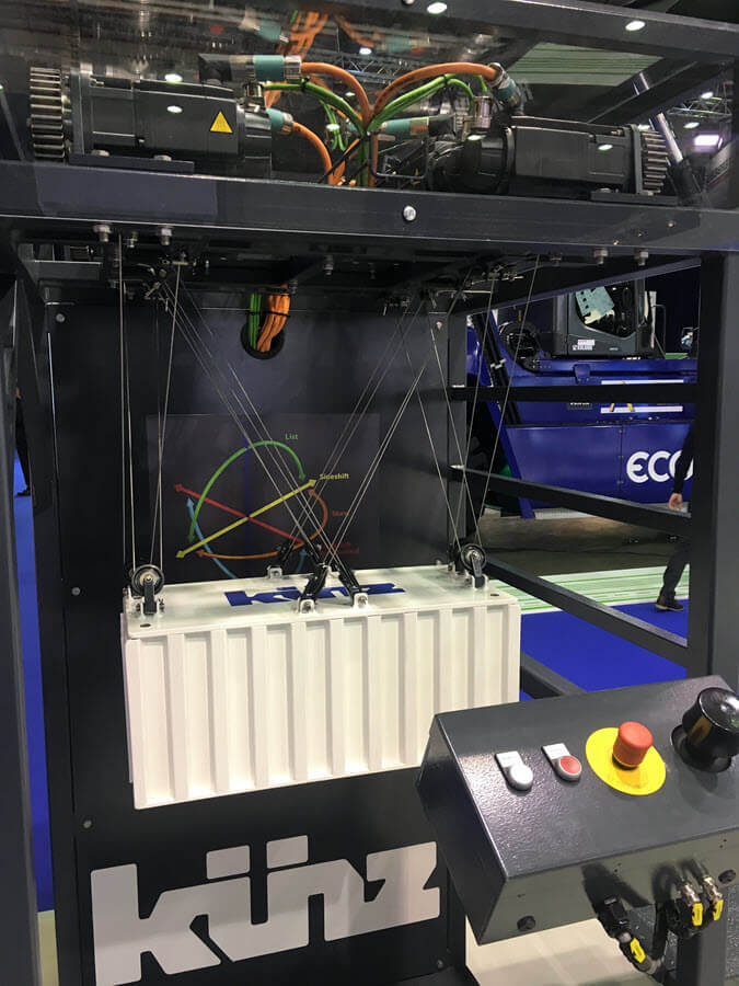 Kuenz Spider Hoist System TOC Europe 2018