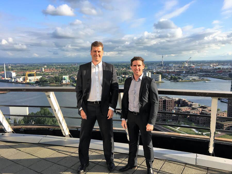 Pekka Ranta and Mitch Hawkins - Euromast, Rotterdam