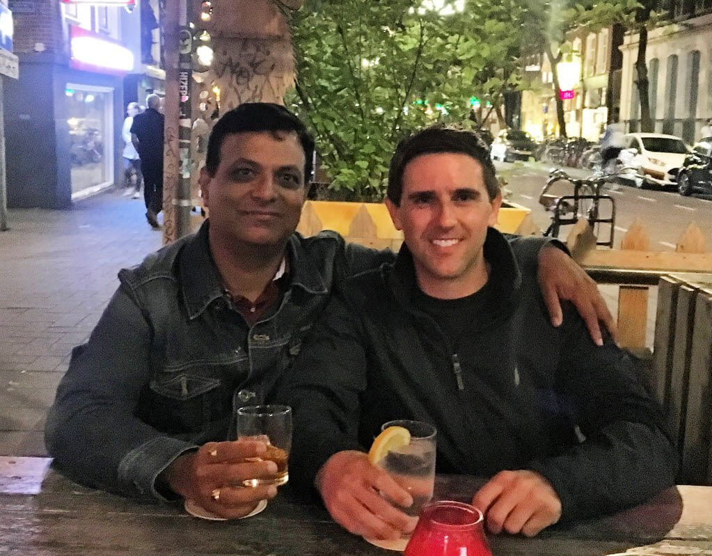 Ravi Behara and Mitch Hawkins - Rotterdam 2018