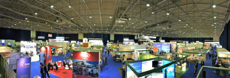 TOC Europe 2018 Ahoy Rotterdam exhibition hall