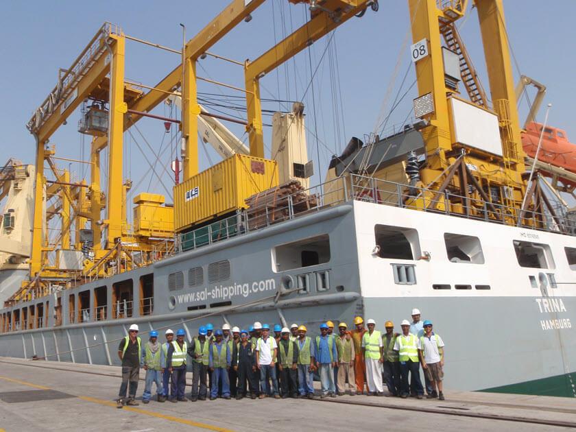 WCS & Sal Shipping MV Trina